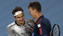 Berdycha čeká ve čtvrtfinále Federer, Šafářová podlehla Wozniacké