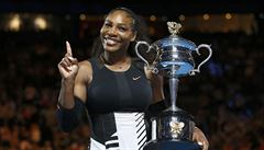 Sesterské finále ovládla Serena, 23. grandslamem překonala Grafovou