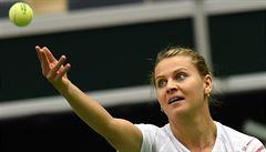 Šafářová triumf v Praze neobhájí, kvůli nemoci z turnaje odstoupila