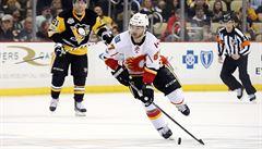NHL: Frolík přispěl gólem k těsné výhře Calgary, smolař Pavelec se zranil
