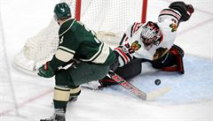 NHL: Chicago zvítězilo na ledě Minnesoty gólem v prodloužení