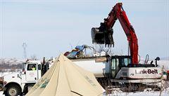 Siouxové boj s těžaři prohráli. Na okraji indiánské rezervace bude ropovod