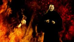 Rocker vymítačem ďábla. Exorcista z tisíců Rusů vyhání démony komunismu