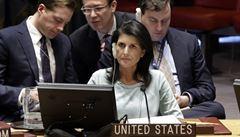 Tvrdá kritika Ruska velvyslankyní USA v OSN: Sankce zůstanou, dokud se Krym nevrátí Ukrajině