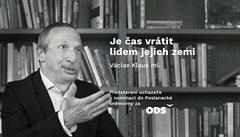 Václav Klaus mladší zřejmě řadovým členem ODS nezůstane