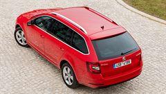 Škoda se pochlubila kombíkem Octavia s novou přídí. Kufr nabízí 610 litrů