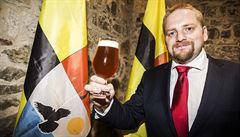 Liberland má své druhé pivo. Patnáctistupňový Liberbeer vytvořil sládek z Krušných hor