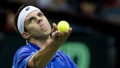 Davis Cup: Čechům hrozí baráž. V oslabené sestavě prohrávají s Austrálií 0:2