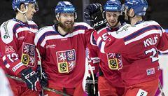 Čeští hokejisté odčinili blamáž se Švédskem historickou demolicí Finska 7:1