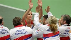 Češky hrají po prvním dni čtvrtfinále Fed Cupu se Španělkami 1:1 na zápasy