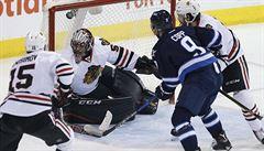 NHL: Chicago uspělo ve Winnipegu a vyhrálo počtvrté za sebou