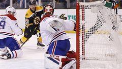 NHL: Krejčí pomohl gólem a přihrávkou k výhře Bostonu, Faksa se porval