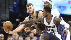 NBA: New York zabral proti San Antoniu, rozhodl Anthony