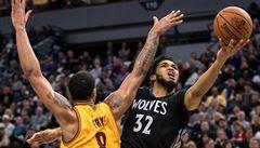NBA: James dovedl oslabený Cleveland k výhře v Minnesotě