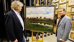 Impresionismus na Hrad. Výstava představí vliv impresionismu na české výtvarníky