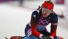 Ruská dopingová sága pokračuje. Biatlonistka Glazyrinová byla na MS suspendována