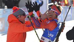 Češi mají zlato i stříbro, smál se Garabík, jenž Baileymu připravil vítězné lyže