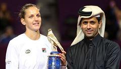 Plíšková poprvé vyzrála na Wozniackou a vyhrála turnaj v Dauhá, Berdych vypadl