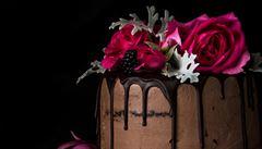 Vyzkoušejte čokoládový dort s arašídovým máslem