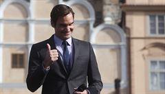 Federer se na zápasy v Praze těší. A také... 'Chtěl bych si zahrát s Nadalem,' přeje si