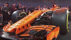 Návrat k tradiční oranžové i na trůn? McLaren představil svoji novou formuli