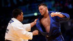 Judista Krpálek se po třech letech znovu dočkal medaile na mistrovství Evropy, získal bronz