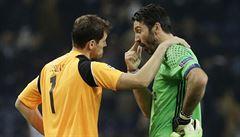Souboj brankářských legend pro Buffona. Juventus vyhrál v Portu