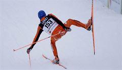 VIDEO Nejhorší lyžař všech dob? Venezuelský běžkař na MS baví svými pády