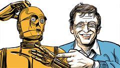 Zdaňme roboty, berou lidem práci, navrhuje miliardář Bill Gates