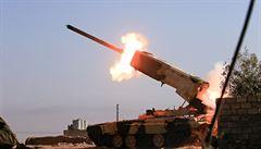 Protivzdušná obrana zneškodnila nad Sýrií izraelské střely, terčem útoku bylo letiště, tvrdí státní agentura