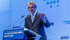 Babiš povede středočeské ANO do voleb z prvního místa kandidátky