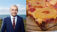 Zatím největší 'skandál' islandského prezidenta. Zakázal by ananas na pizze