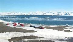 Výzkumy na Antarktidě vědcům překazilo zamrzlé moře