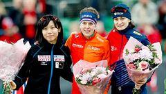 Další medaile: Sáblíková vydřela na vícebojařském mistrovství světa stříbro