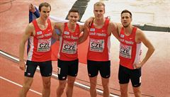 HME v atletice: sedmibojař Helcelet má bronz, stejnou medaili bere i štafeta