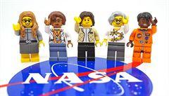 Lego začne vyrábět figurky inspirované inženýrkami z NASA