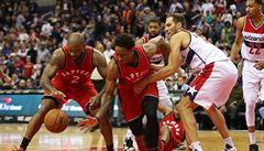 NBA: Washington i se Satoranským v odvetě podlehl Torontu