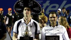 Americký tenista Querrey zdolal i Nadala a v Acapulcu slaví titul