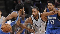 NBA: San Antonio v NBA zvládlo prodloužení i s Minnesotou