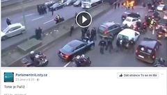 'Aktuální' Paříž na rok starém videu. Proti Parlamentním listům se ohradili bojovníci s hoaxy
