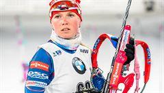 Puskarčíková skončila ve sprintu v Oberhofu 17., Davidová dojela na 23. místě