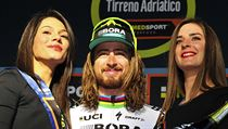 Peter Sagan na Tirrenu.