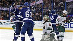 NHL:Šustr pomohl druhým gólem v sezoně k výhře Tampy Bay