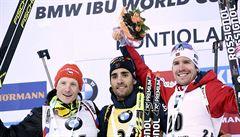 Triumf mu utekl o kousek, přesto biatlonista Moravec slaví: Druhé místo je super