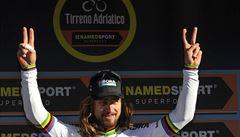 Mistr světa Sagan vyhrál třetí etapu Tirrena, na Paříž-Nice slaví Simon Yates