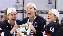 Vzpoura kvůli penězům: hokejistky USA hrozí bojkotem MS, kde mají obhajovat zlato