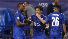 Leicester je ve čtvrtfinále Ligy mistrů, deset minut před koncem přežil penaltu