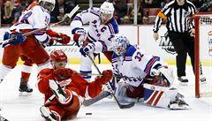 NHL: Mrázek nezabránil prohře Detroitu, Hemský asistoval u gólu Dallasu