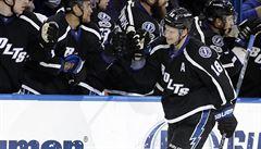 NHL: Pastrňák bodoval podeváté v řadě, Palát připravil vítězný gól