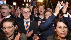 Nizozemsko řeklo ne špatnému populismu, raduje se vítězný Rutte, Wilders porážku uznal